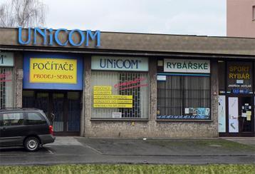 Budova firmy UNICOM